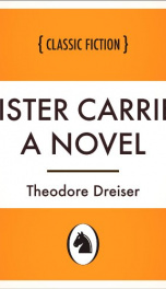 Sister Carrie: a Novel_cover