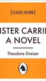 Sister Carrie: a Novel_cover