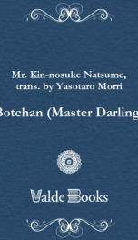 Botchan (Master Darling)_cover