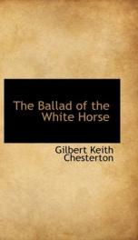 The Ballad of the White Horse_cover