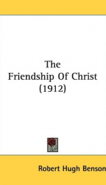the friendship of christ_cover