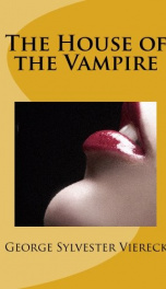 The House of the Vampire_cover
