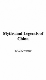Myths and Legends of China_cover