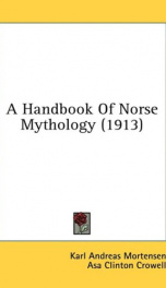 a handbook of norse mythology_cover
