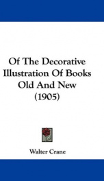 of the decorative illustration of books old and new_cover