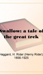 Swallow: a tale of the great trek_cover