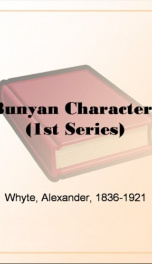 Bunyan Characters (1st Series)_cover