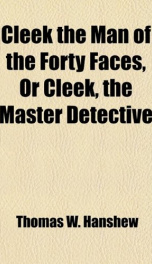Cleek: the Man of the Forty Faces_cover