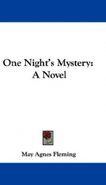 one nights mystery a novel_cover
