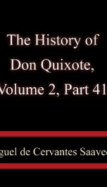 The History of Don Quixote, Volume 2, Part 41_cover