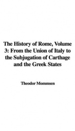 the history of rome volume 3_cover