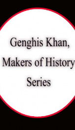 Genghis Khan, Makers of History Series_cover