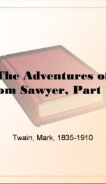 The Adventures of Tom Sawyer, Part 1._cover