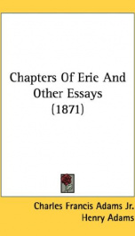 chapters of erie and other essays_cover