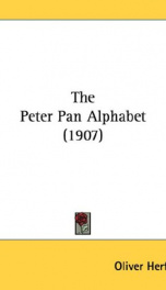 The Peter Pan Alphabet_cover