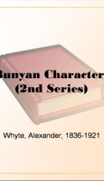 Bunyan Characters (2nd Series)_cover