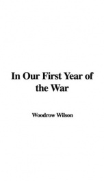 In Our First Year of the War_cover