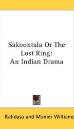 Sakoontala or the Lost Ring_cover