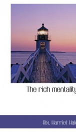 the rich mentality_cover