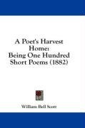 a poets harvest home being one hundred short poems_cover