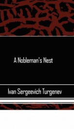A Nobleman's Nest_cover