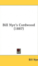 bill nyes cordwood_cover