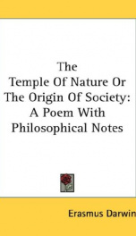 The Temple of Nature; or, the Origin of Society_cover