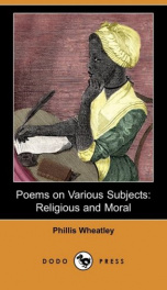 Poems on various subjects, religious and moral_cover