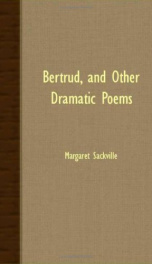 bertrud and other dramatic poems_cover