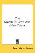 the search of ceres and other poems_cover
