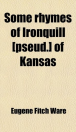 some rhymes of ironquill_cover