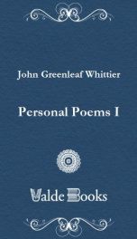 Personal Poems I_cover