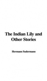 The Indian Lily and Other Stories_cover