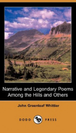 Narrative and Legendary Poems: Among the Hills and Others_cover