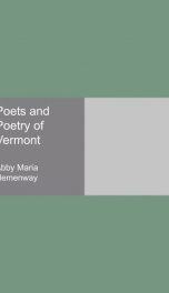 poets and poetry of vermont_cover