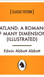 Flatland: a romance of many dimensions (Illustrated)_cover
