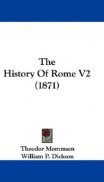the history of rome v2_cover
