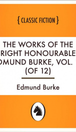The Works of the Right Honourable Edmund Burke, Vol. 11 (of 12)_cover