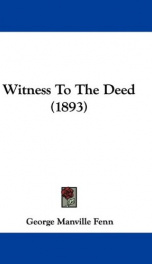 Witness to the Deed_cover