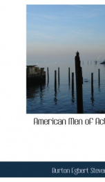 American Men of Action_cover