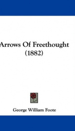Arrows of Freethought_cover