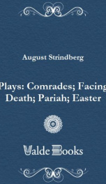 Plays: Comrades; Facing Death; Pariah; Easter_cover