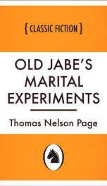 Old Jabe's Marital Experiments_cover