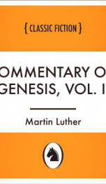 Commentary on Genesis, Vol. II_cover