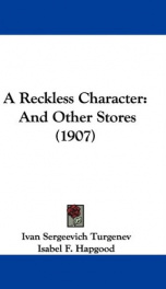 A Reckless Character_cover