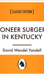 Pioneer Surgery in Kentucky_cover