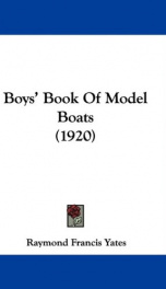 Boys' Book of Model Boats_cover