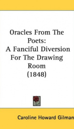 oracles from the poets a fanciful diversion for the drawing room_cover