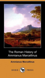 The Roman History of Ammianus Marcellinus_cover