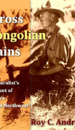 Across Mongolian Plains_cover